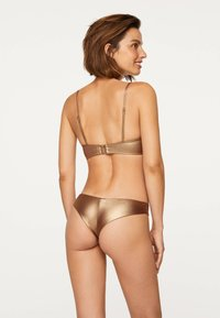 OYSHO - Bikini bottoms - gold - 1