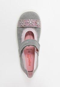 Superfit - TENSY - Ankle strap ballet pumps - grau - 1