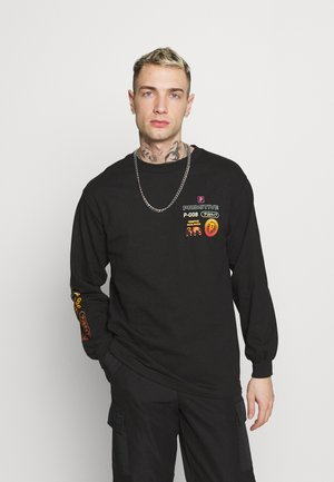PEAK TEE - Long sleeved top - black