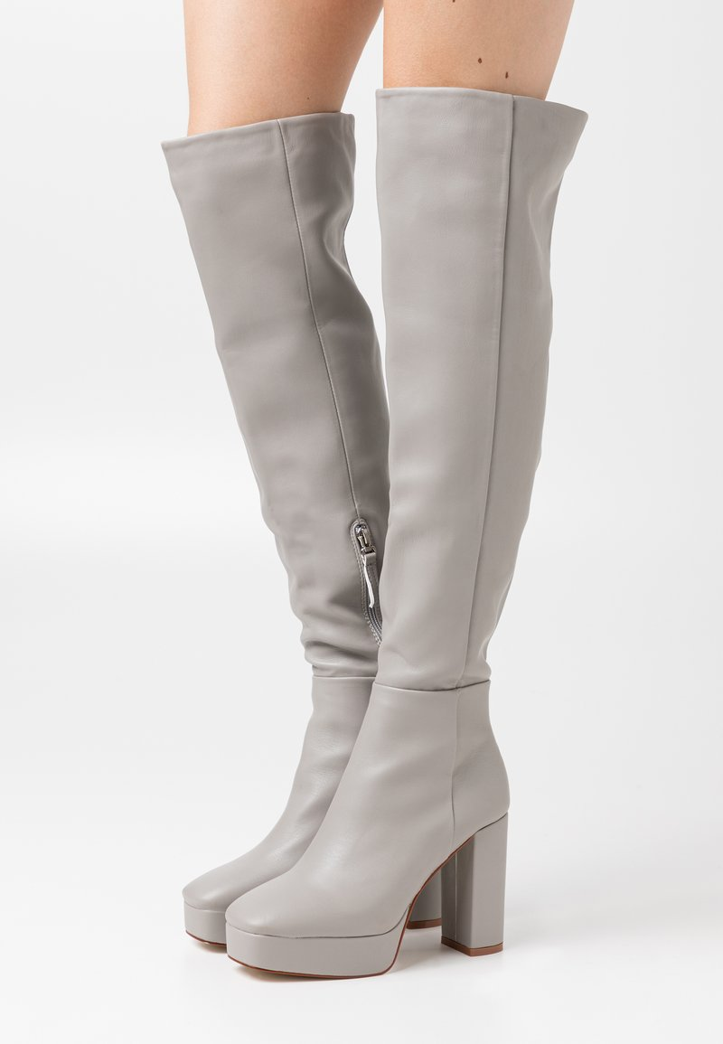 RAID - CAROLINA - High heeled boots - grey