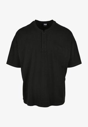 OVERSIZED  - Polo - schwarz
