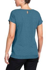 Vaude - SKOMER - Print T-shirt - blue gray - 1