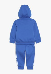 adidas Originals - NEW ICON HOODIE SET - Træningssæt - blue/white - 1