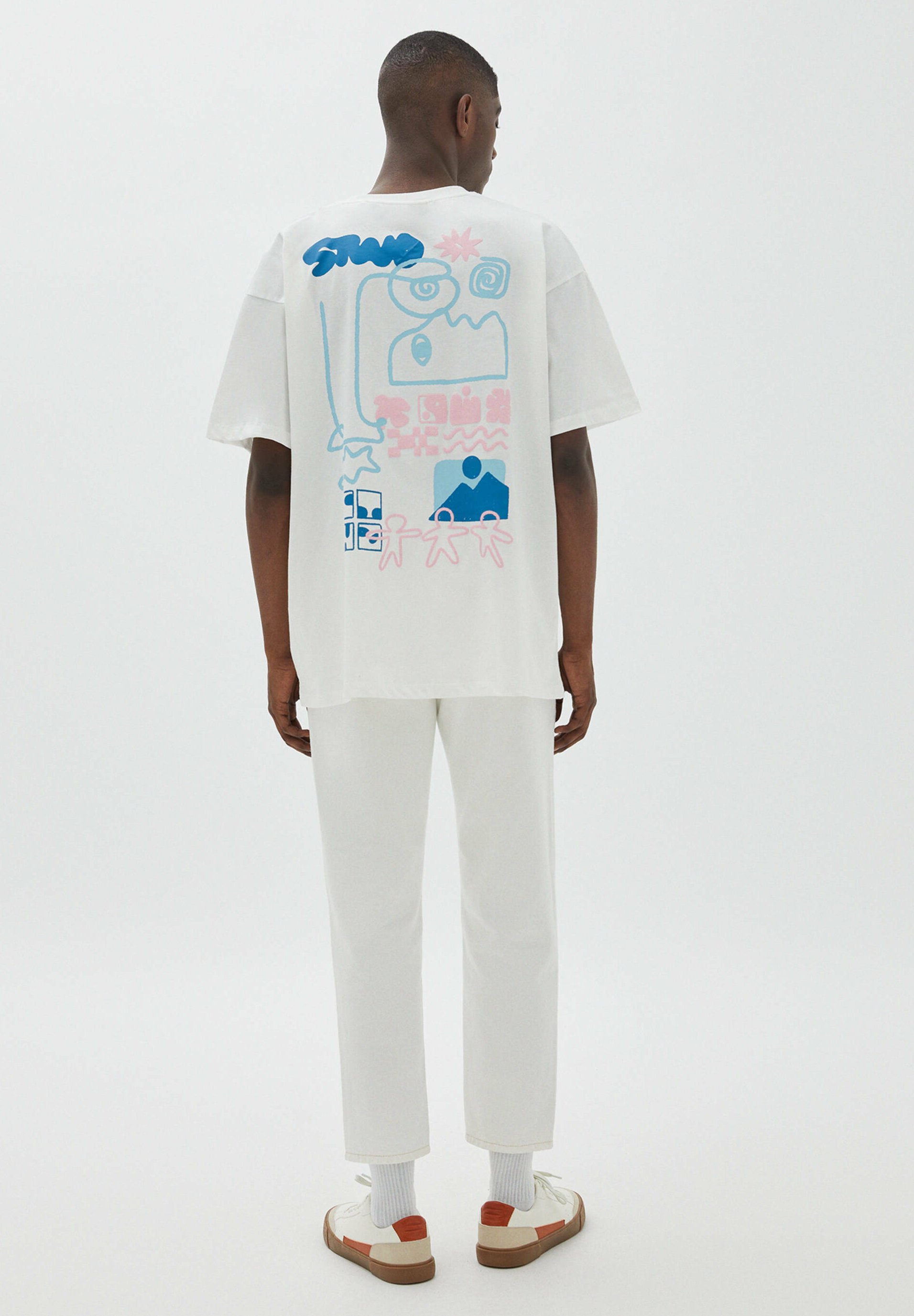 Herren MIT  ABSTRAKTEM PRINT - T-Shirt print