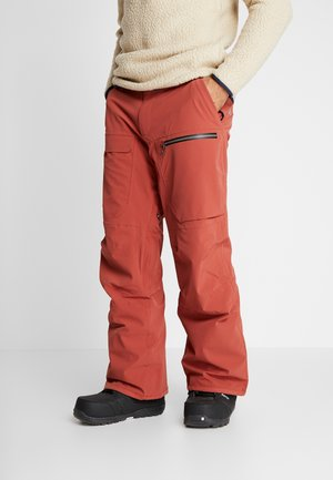 STRETCH  - Snow pants - barn red