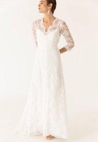 IVY & OAK BRIDAL - MIT ÄRMELN - Cocktailkleid/festliches Kleid - snow white - 0