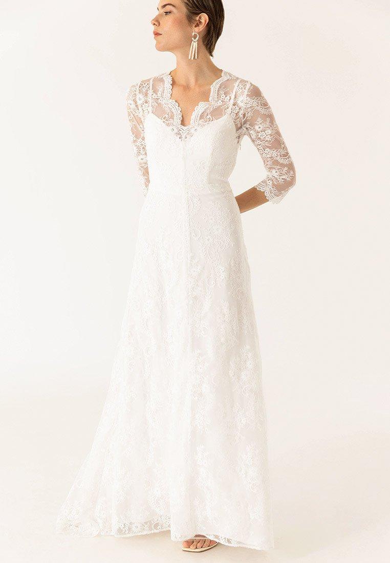 IVY & OAK - MIT ÄRMELN - Cocktail dress / Party dress - snow white