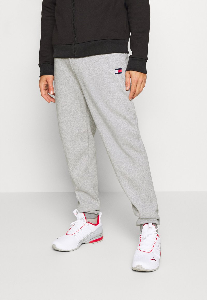 Tommy Hilfiger - CUFFED REGULAR PANT - Tracksuit bottoms - grey