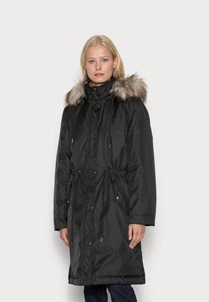 FQWOOD TOBIA - Płaszcz zimowy - black
