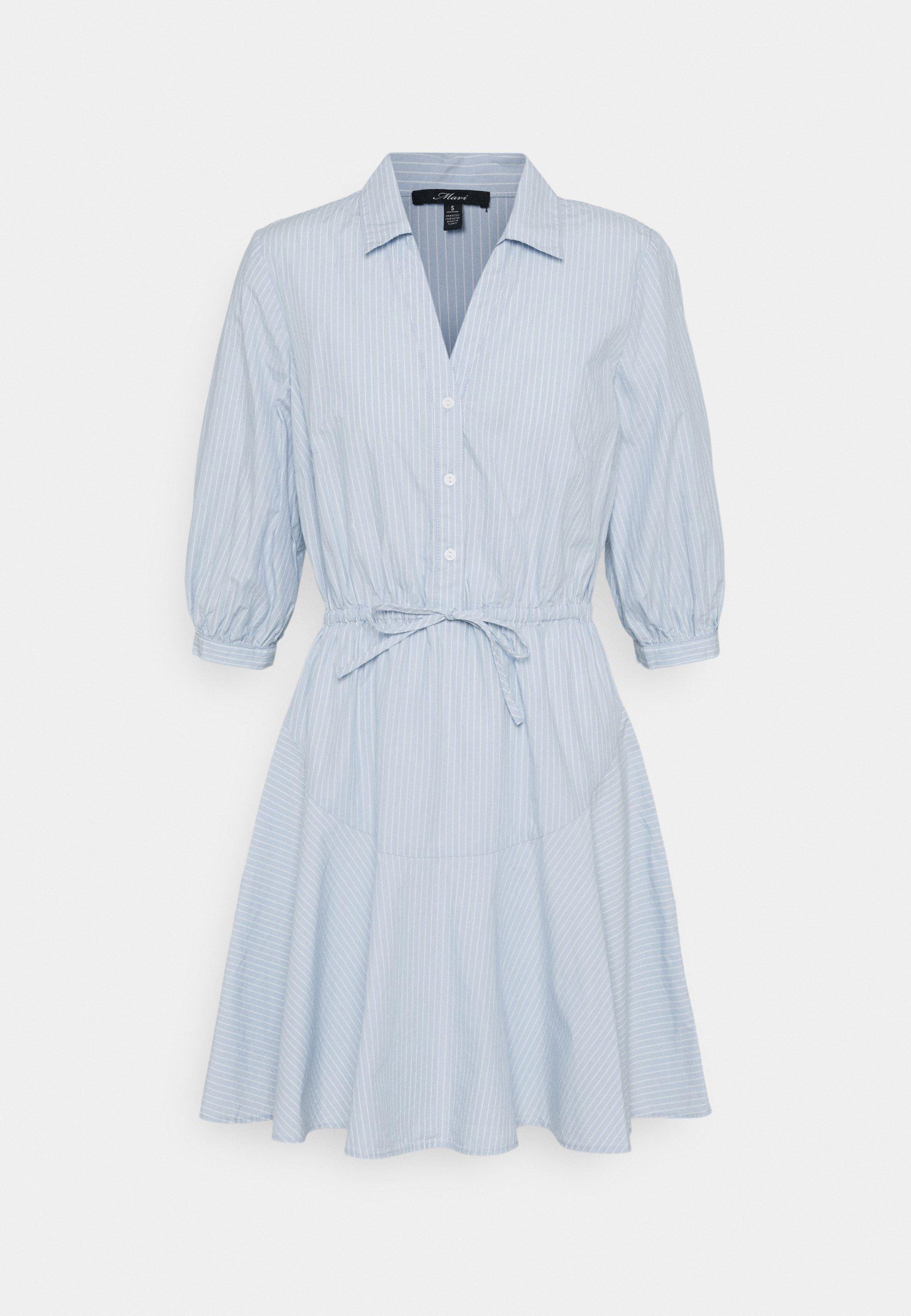 Mujer STRIPE DRESS - Vestido camisero