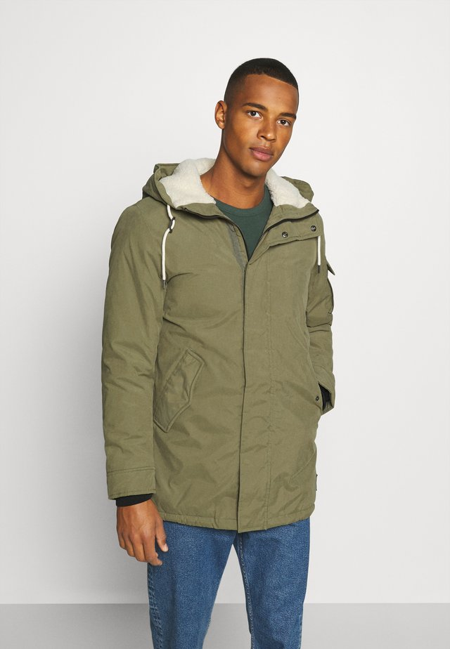 JJSURE JACKET - Wintermantel - dusty olive