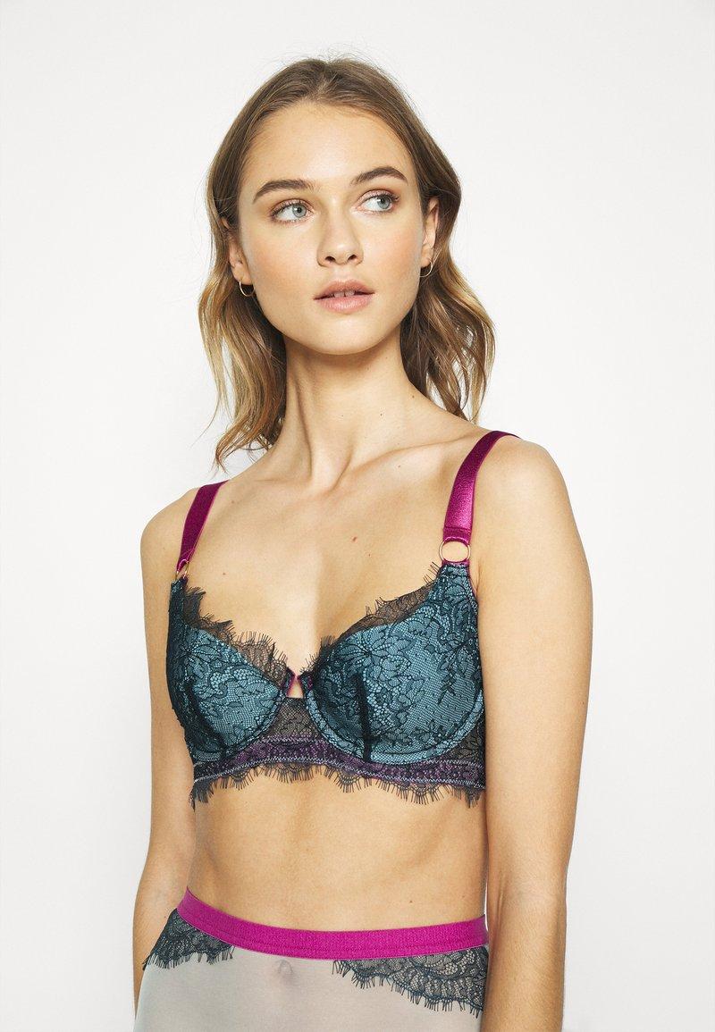 Dora Larsen - MARIA HALF-PAD BALCONETTE - T-shirt bra - dark green