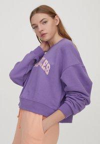PULL&BEAR - Sweatshirt - purple - 3