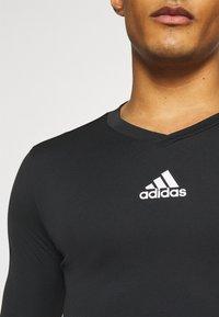 adidas Performance - TEAM BASE TEE - T-shirt à manches longues - black - 3