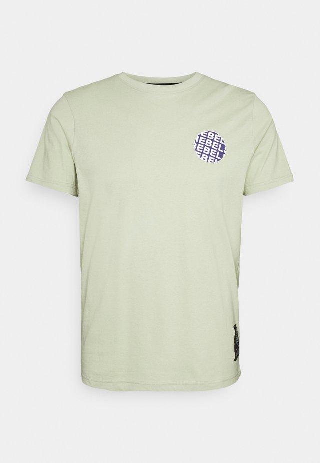 JACE TEE UNISEX - T-shirt print - swamp