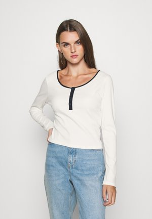 BRANDY TEE - Long sleeved top - tofu