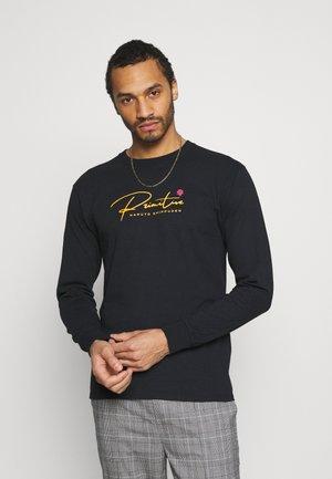 KNOW PAIN TEE - Long sleeved top - black