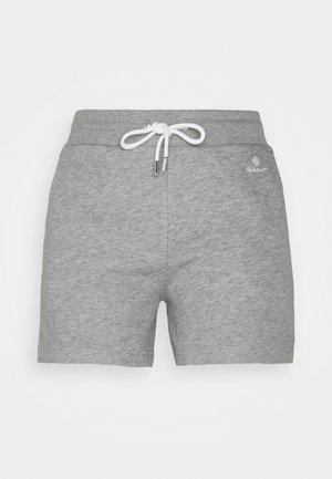 LOCK UP - Shorts - grey melange
