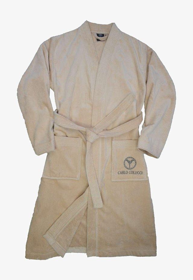 Dressing gown - beige