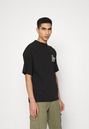 BALANCE UNISEX  - T-shirt print - black