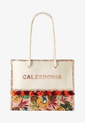 Beach accessory - tropical pink