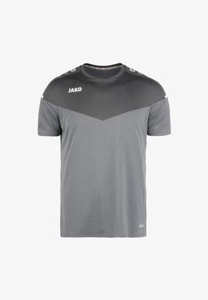 CHAMP - Camiseta estampada - steingrau / anthra light