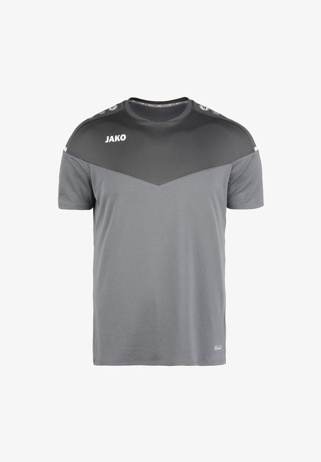 CHAMP - T-shirt con stampa - steingrau / anthra light