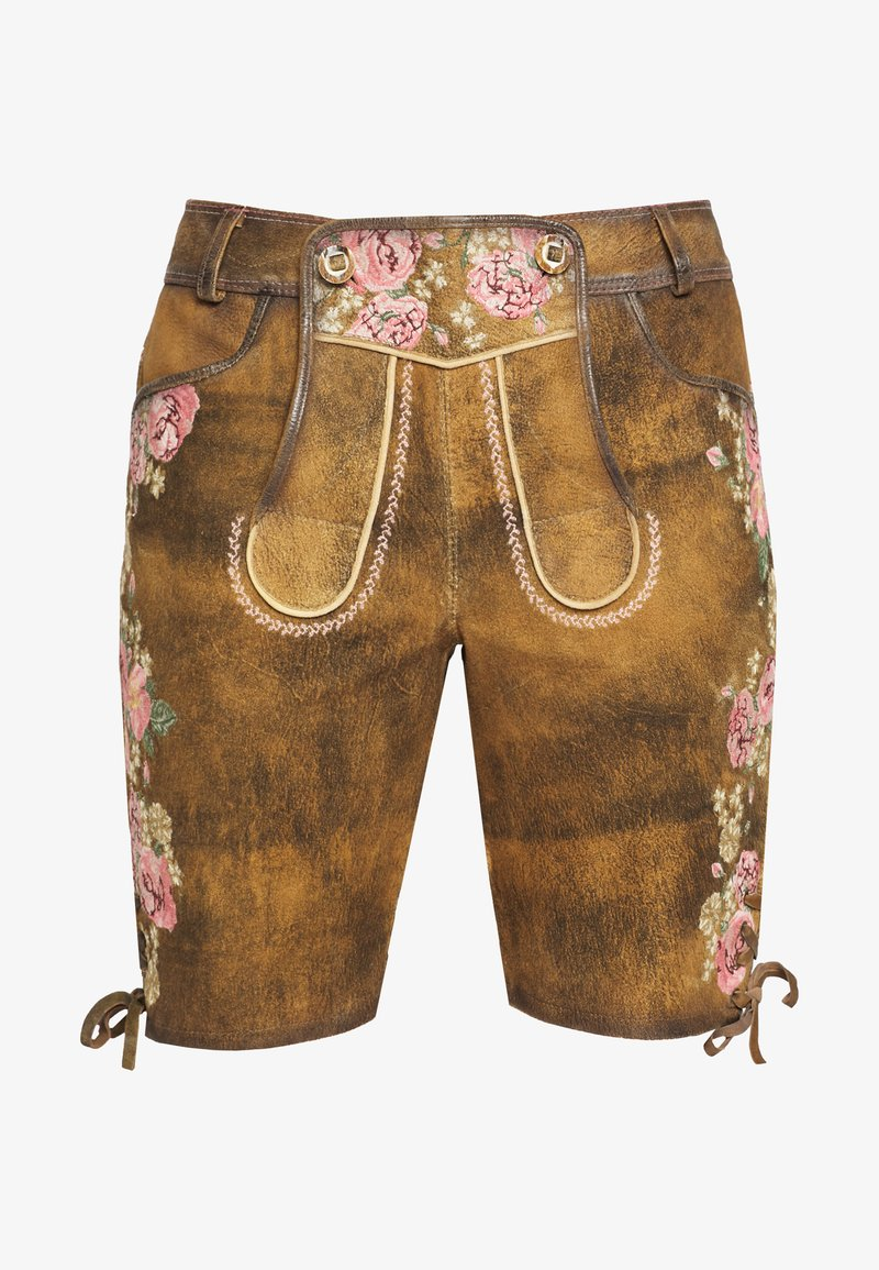 Krüger Dirndl - Shorts - brown