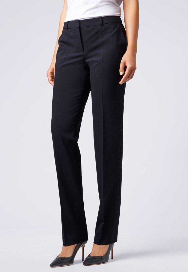 BOSS - TAMEA - Trousers - dark blue