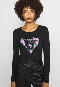 Guess - VILMA  - Long sleeved top - jet black