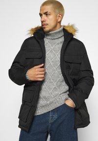 Brave Soul - EVEREST - Winter coat - black - 4
