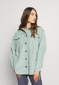 Moves - SAVISA - Button-down blouse - mint green - 0