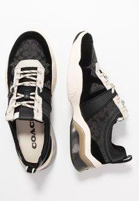Coach - CITYSOLE RUNNER - Trainers - black/chalk - 3