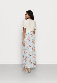 VILA PETITE - VIMESA MAXI SKIRT - Maxi skirt - cashmere blue - 2