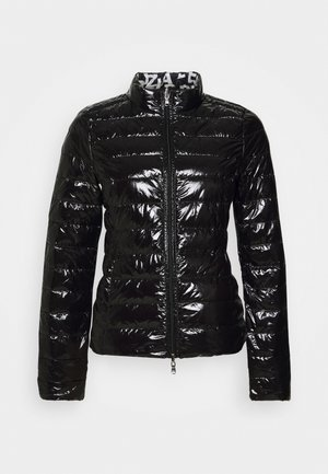 Down jacket - shiny black