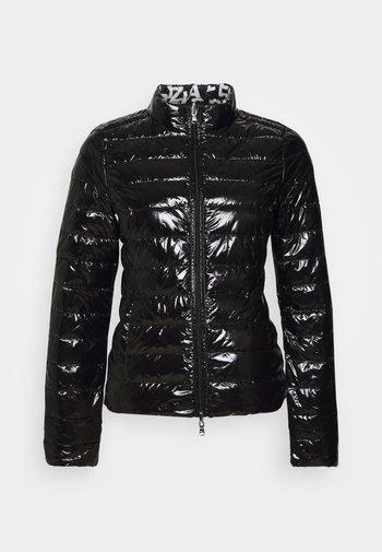 Down jacket - shiny black