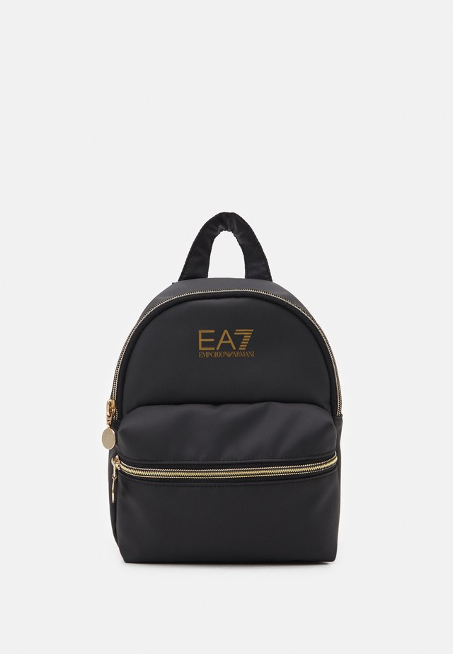 BACKPACK UNISEX - Zaino - black/gold