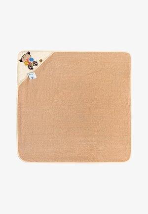 Bath towel - beige/bear