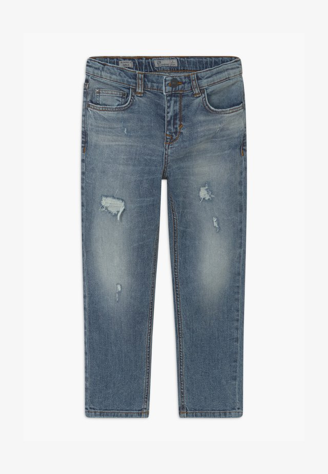 ELIANA - Jeans baggy - olva wash
