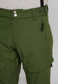 Wearcolour - TILT PANT - Skibukser - olive - 3