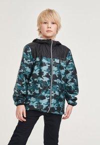 Next - Waterproof jacket - khaki - 1