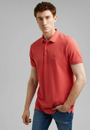 Polo shirt - coral red