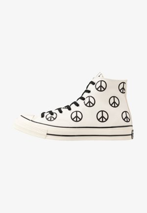 CHUCK TAYLOR ALL STAR 70 - Höga sneakers - egret/black