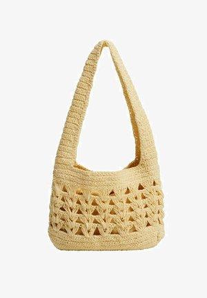 Handbag - pastellgelb