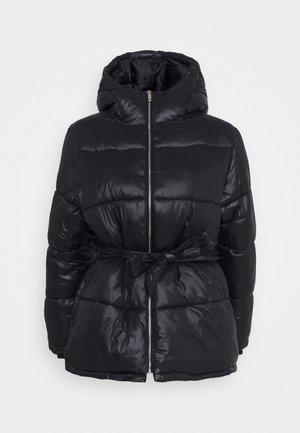 PRECIOUS PUFFER JACKET - Winter jacket - shiny black