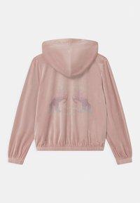 Lindex - HOODIE SABINA - Zip-up hoodie - dusty pink - 1