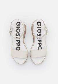 Gioseppo - Sandalias con plataforma - blanco - 5
