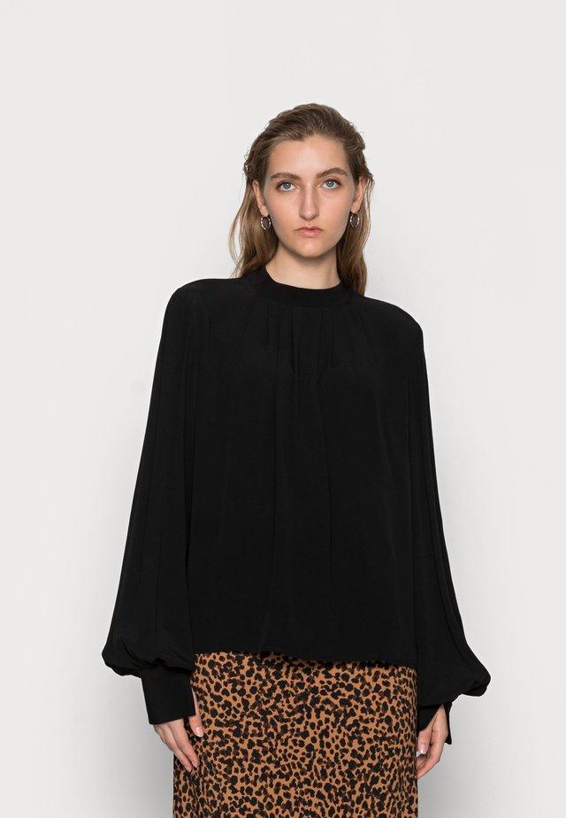 BRIANNA - Long sleeved top - black