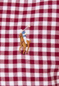 Polo Ralph Lauren - LONG SLEEVE SPORT - Shirt - wine/white - 2