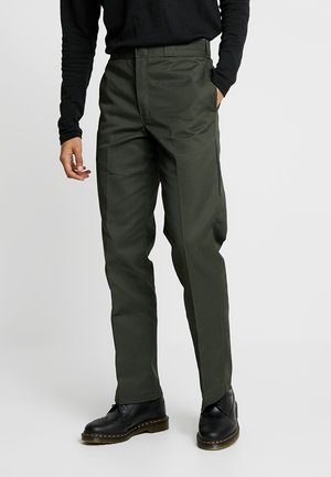 ORIGINAL 874® WORK PANT - Tygbyxor - olive green